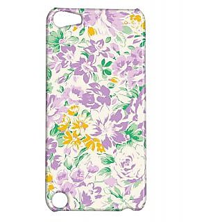 Pickpattern Back Cover For Apple Ipod Touch 5 PURPLEESSENCEIT5-5734