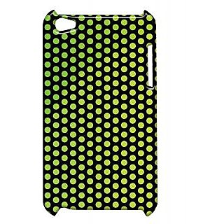 Pickpattern Back Cover For Apple Ipod Touch 4 GREENBALLSIT4-4458