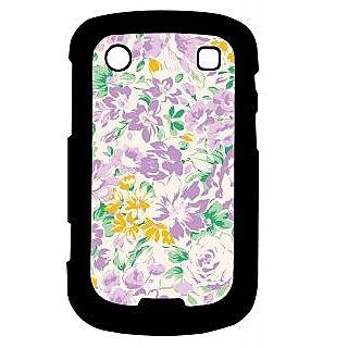 Pickpattern Back Cover For Blackberry Bold 9900 PURPLEESSENCE9900-5900