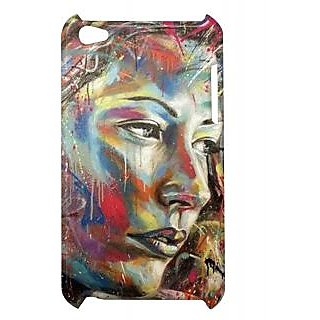 Pickpattern Back Cover For Apple Ipod Touch 4 WOMANPOWERIT4-4301