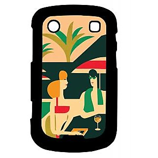 Pickpattern Back Cover For Blackberry Bold 9900 HOLIDAY9900-5993