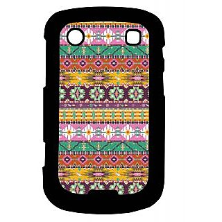 Pickpattern Back Cover For Blackberry Bold 9900 PINKMATRESS9900-5925