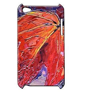 Pickpattern Back Cover For Apple Ipod Touch 4 THEGLOWINGLEAFIT4-5399