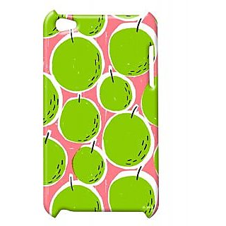 Pickpattern Back Cover For Apple Ipod Touch 4 GREENGORGEOUSIT4-4994