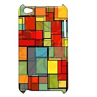 Pickpattern Back Cover For Apple Ipod Touch 4 MULTICOLORBOXIT4-5153