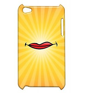 Pickpattern Back Cover For Apple Ipod Touch 4 SMILEIT4-5364
