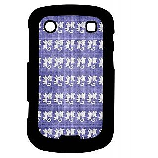 Pickpattern Back Cover For Blackberry Bold 9900 CATTAILS9900-5851