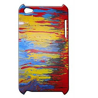 Pickpattern Back Cover For Apple Ipod Touch 4 COLOURCOLLOSUSIT4-4845