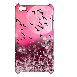 Pickpattern Back Cover For Apple Ipod Touch 4 PINKMOONIT4-5263