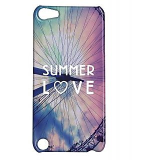 Pickpattern Back Cover For Apple Ipod Touch 5 SUMMERLOVEIT5-5650