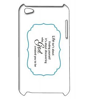 Pickpattern Back Cover For Apple Ipod Touch 4 FINDINGIT4-4935