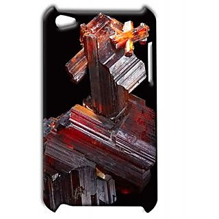 Pickpattern Back Cover For Apple Ipod Touch 4 WOODSTRUCTUREIT4-4305