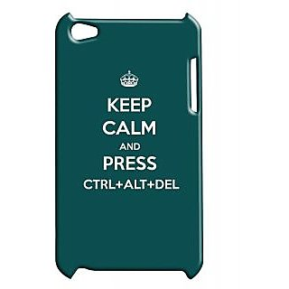 Pickpattern Back Cover For Apple Ipod Touch 4 DELETEIT4-4888