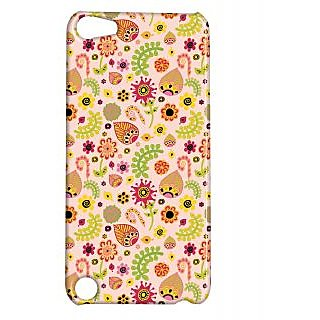Pickpattern Back Cover For Apple Ipod Touch 5 LEAFYETHNICIT5-5726