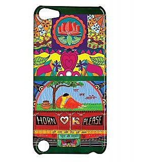 Pickpattern Back Cover For Apple Ipod Touch 5 TRUCKPATTERNIT5-5639