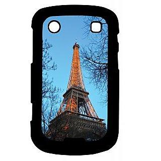 Pickpattern Back Cover For Blackberry Bold 9900 CITYLOVE9900-5969