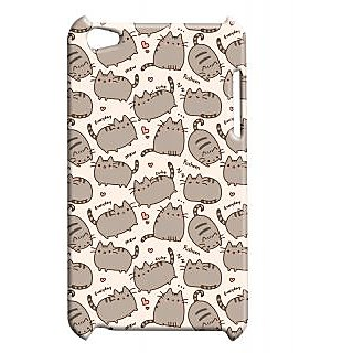 Pickpattern Back Cover For Apple Ipod Touch 4 FATTYCATTYIT4-4930