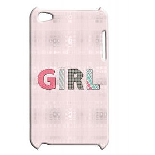 Pickpattern Back Cover For Apple Ipod Touch 4 GIRLIT4-4404