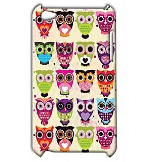Pickpattern Back Cover For Apple Ipod Touch 4 OWLSIT4-5217