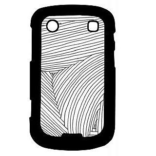 Pickpattern Back Cover For Blackberry Bold 9900 SKETCHDESIGN9900-5956