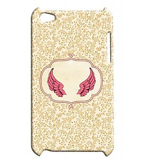 Pickpattern Back Cover For Apple Ipod Touch 4 ANGELWINGSIT4-4388