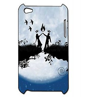 Pickpattern Back Cover For Apple Ipod Touch 4 SAWARIYAAIT4-5322