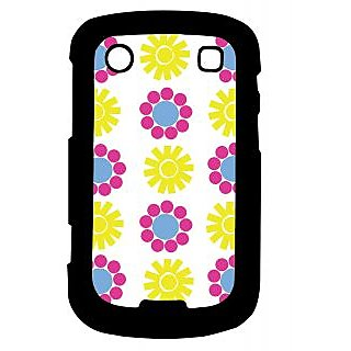 Pickpattern Back Cover For Blackberry Bold 9900 SUN&FLOWER9900-5931