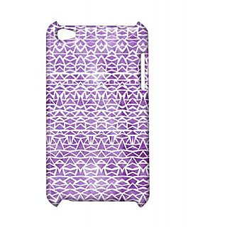 Pickpattern Back Cover For Apple Ipod Touch 4 SHINNYVIOLETIT4-5346
