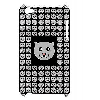 Pickpattern Back Cover For Apple Ipod Touch 4 CATSIT4-4572