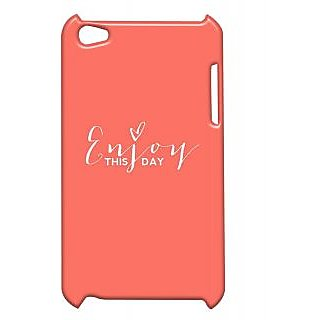 Pickpattern Back Cover For Apple Ipod Touch 4 ENJOYLIFEIT4-4916