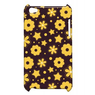 Pickpattern Back Cover For Apple Ipod Touch 4 YELLOWTINTIT4-4424