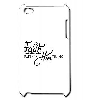 Pickpattern Back Cover For Apple Ipod Touch 4 FAITHIT4-4928