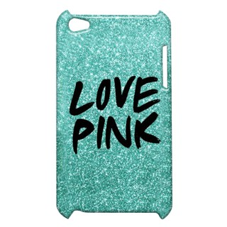 Pickpattern Back Cover For Apple Ipod Touch 4 BLUEPINKIT4-4777