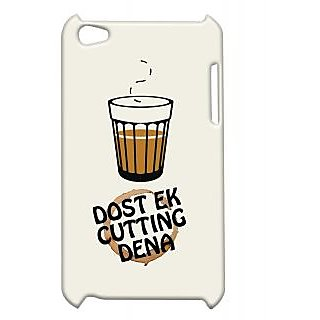 Pickpattern Back Cover For Apple Ipod Touch 4 CUTTINGCHAIIT4-4870