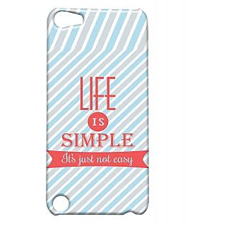 Pickpattern Back Cover For Apple Ipod Touch 5 SIMPLELIFEIT5-5528