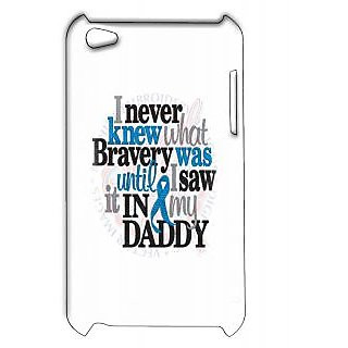 Pickpattern Back Cover For Apple Ipod Touch 4 DADDYIT4-4874