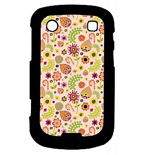 Pickpattern Back Cover For Blackberry Bold 9900 LEAFYETHNIC9900-5892