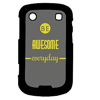 Pickpattern Back Cover For Blackberry Bold 9900 BEAWESOME9900-6021