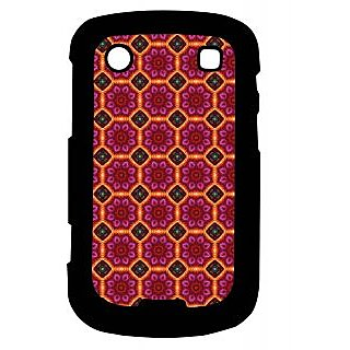 Pickpattern Back Cover For Blackberry Bold 9900 REDFLOOR9900-5927