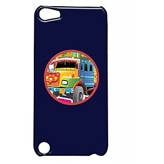 Pickpattern Back Cover For Apple Ipod Touch 5 TRUCKHEADLIGHTSIT5-5640