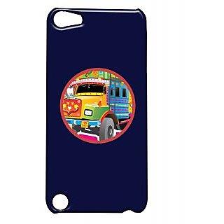 Pickpattern Back Cover For Apple Ipod Touch 5 TRUCKHEADLIGHTSIT5-5640