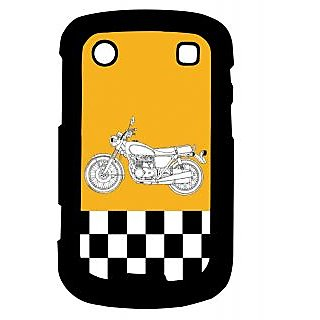 Pickpattern Back Cover For Blackberry Bold 9900 ENFIELD9900-6002