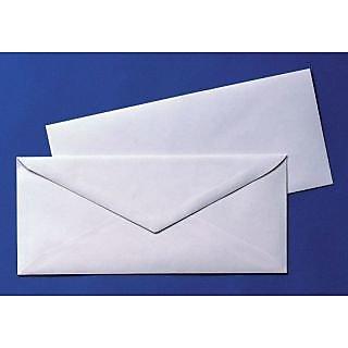 White Official Envelopes Pack Of 25 Envelopes