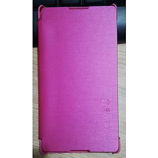 FLIP COVER FOR SONY XPERIA C  Pink