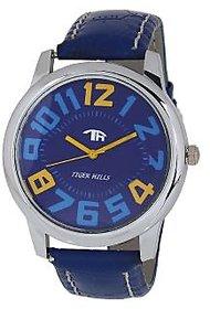 Tigerhills Mens Blue And Blue  Watch