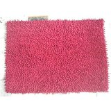 JBG Home Store Chenille Shaggy Cotton Bathmat/Rugs -Red