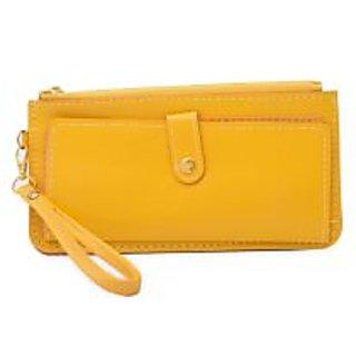 SkyWays Women's Yellow Wallet