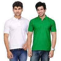 TSX Men's Multicolor Polo (Pack of 2)