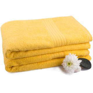 Yellow Eva Bath Towel (Bath Towel)