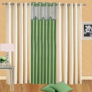 Homsazz Combo of 3 Door Curtains(Set of 3)